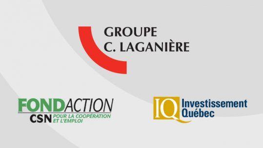 communiqué Groupe C. Laganière